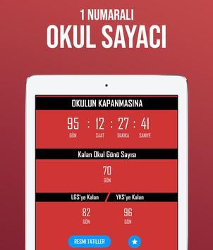 Tatil Sayacı - Okul Sayacı ảnh chụp màn hình 3