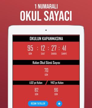 Tatil Sayacı - Okul Sayacı ảnh chụp màn hình 2