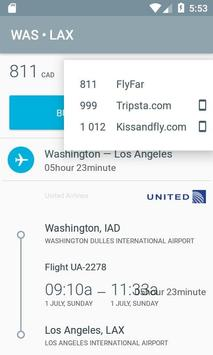 Airplane ticket price screenshot 4