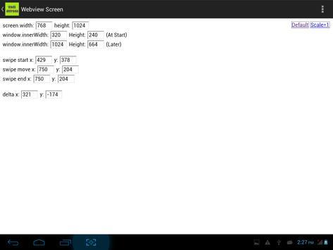 Test WebView Screen screenshot 1