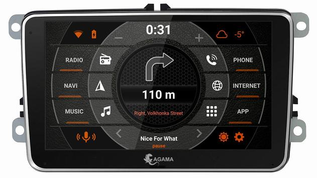 AGAMA Car Launcher3