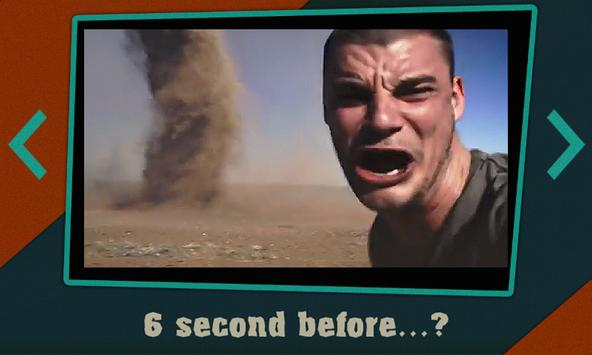 One second before...? poster