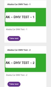 Alaska - DMV Permit Practice Test poster