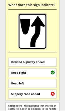 Alaska - DMV Permit Practice Test screenshot 2