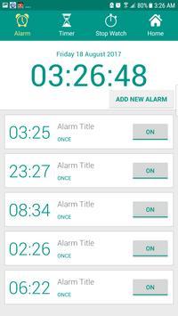 Alarm Clock AVA talking clock batteryFull Alarm tm screenshot 12
