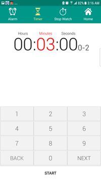 Alarm Clock AVA talking clock batteryFull Alarm tm screenshot 5