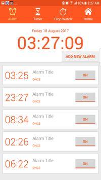 Alarm Clock AVA talking clock batteryFull Alarm tm screenshot 3