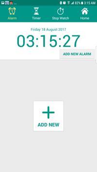 Alarm Clock AVA talking clock batteryFull Alarm tm screenshot 4