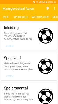 Manegevoetbal Asten screenshot 1