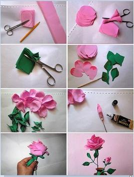 Making paper flowers screenshot 1