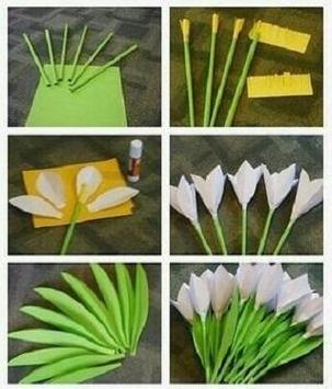 Making paper flowers screenshot 4