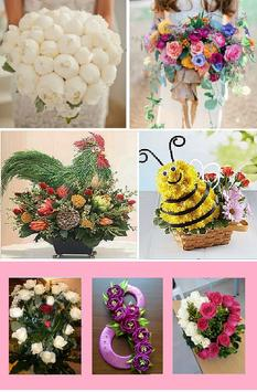 How to make a bouquet with your own hands poster