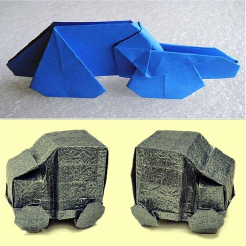 Origami Weapons and Armour You Could Almost Take Into Battle | 500x500