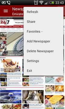 UAE Newspapers screenshot 4