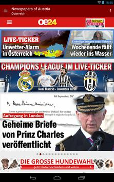 Austria Newspapers screenshot 7