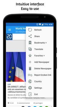 समाचार पत्र - हिंदी और विश्व समाचार स्क्रीनशॉट 4