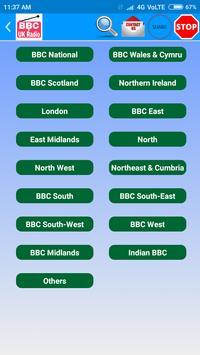 All BBC Radio & UK Radio , Radio UK Live Stations скриншот 7