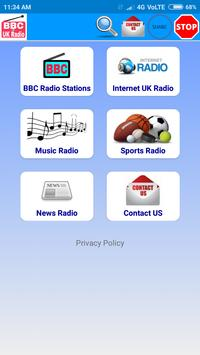 All BBC Radio & UK Radio , Radio UK Live Stations постер