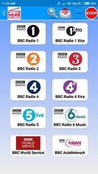 All BBC Radio & UK Radio , Radio UK Live Stations скриншот 2