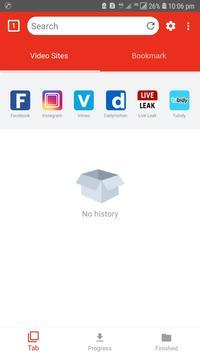 Fast Video Downloader App 2019 ảnh chụp màn hình 1