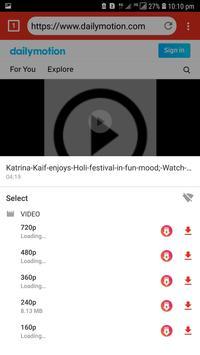 Fast Video Downloader App 2019 ảnh chụp màn hình 2