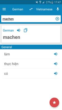 German-Vietnamese Dictionary poster
