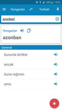 Hungarian-Turkish Dictionary poster