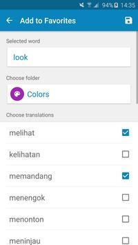 Indonesian-English Dictionary स्क्रीनशॉट 7