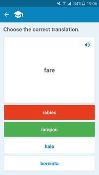 Indonesian-Italian Dictionary screenshot 3