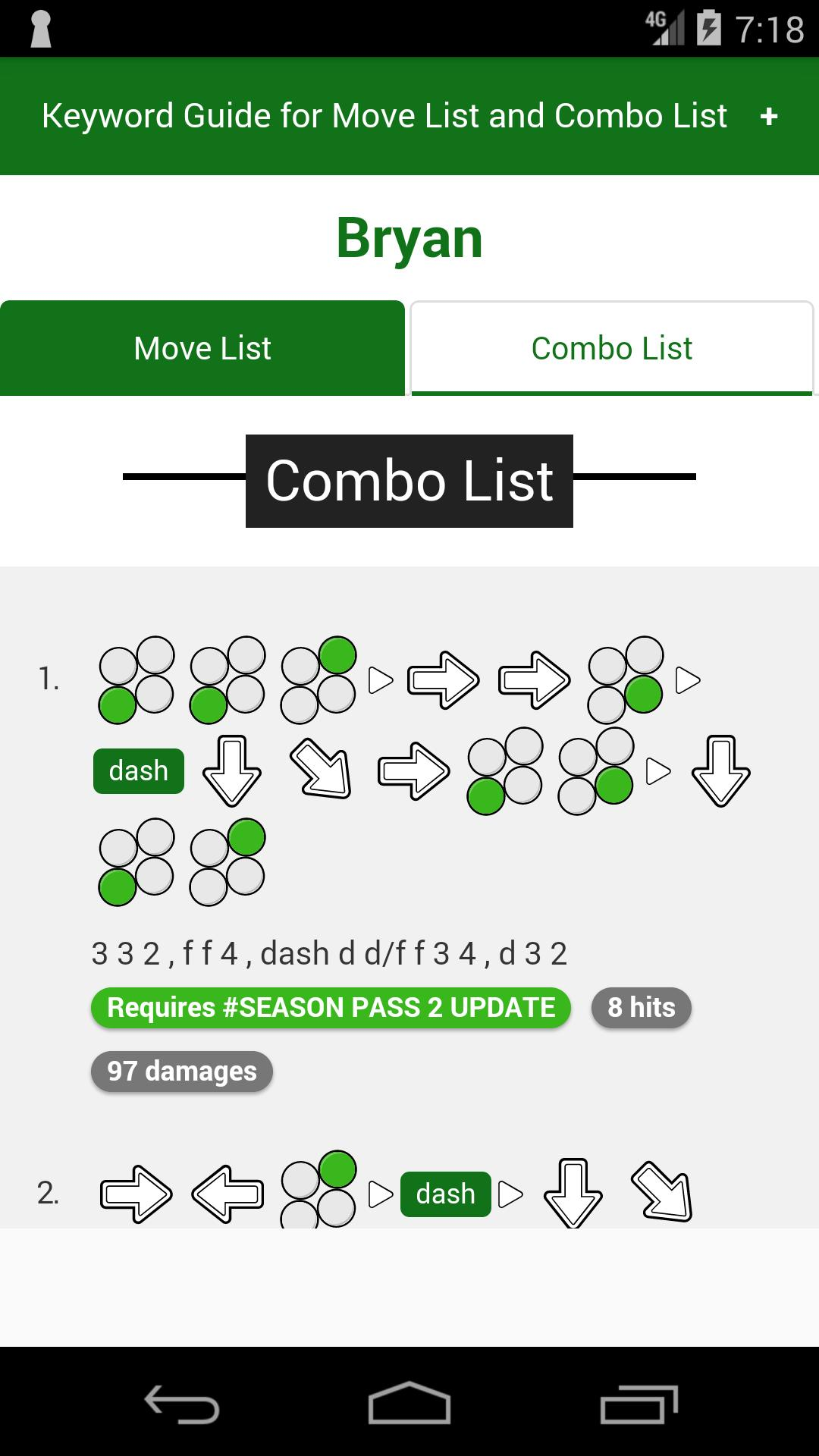 Tekken 7 Guide Tekken 7 Move And Combo Guide List For Android
