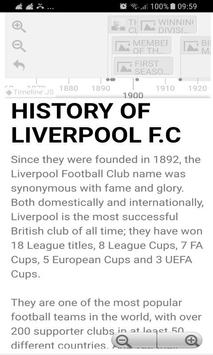 History Timeline Of Liverpool F.C poster