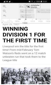 History Timeline Of Liverpool F.C screenshot 1