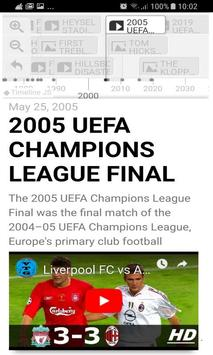 History Timeline Of Liverpool F.C screenshot 2