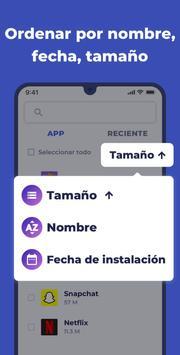 Compartir Apps captura de pantalla 4