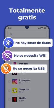 Compartir Apps captura de pantalla 5