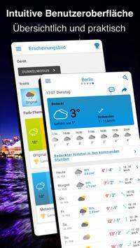 Wetter 14 Tage - Meteored Wettervorhersage Plakat