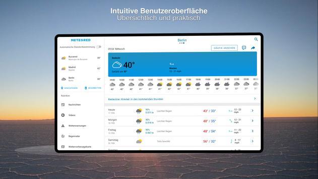Wetter 14 Tage - Meteored Wettervorhersage Screenshot 14