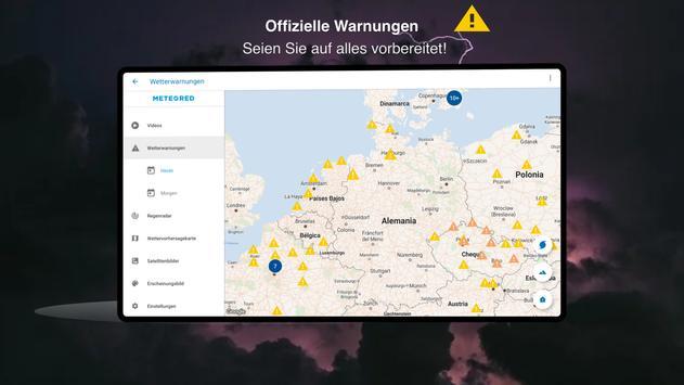 Wetter 14 Tage - Meteored Wettervorhersage Screenshot 13