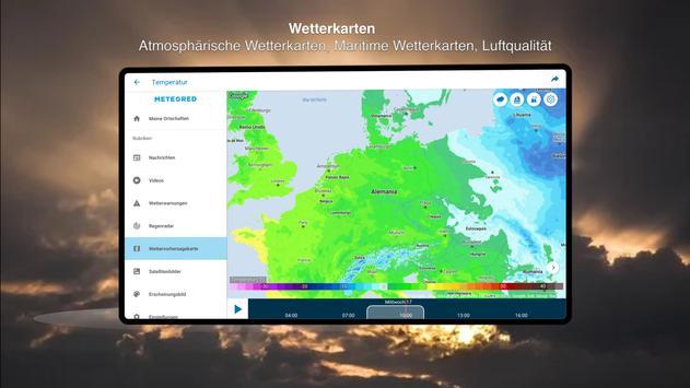 Wetter 14 Tage - Meteored Wettervorhersage Screenshot 8