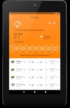 Weather 14 Days - Meteored screenshot 11