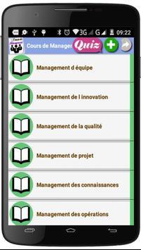 Cours de Management screenshot 2