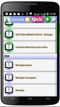 Curso de biología screenshot 1