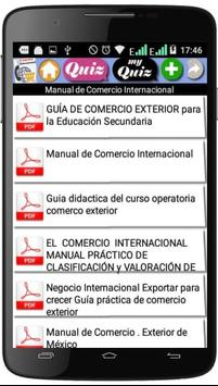 Curso de Comercio internacional screenshot 1