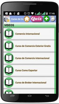 Curso de Comercio internacional screenshot 3