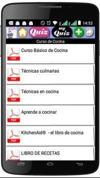 Curso de Cocina screenshot 1