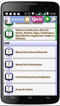 Curso de Cocina screenshot 2