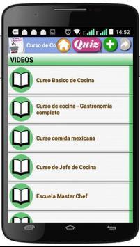 Curso de Cocina screenshot 3