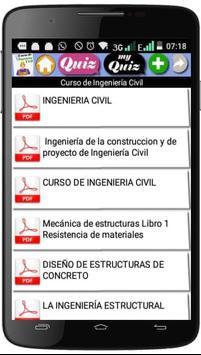 CURSO DE INGENIERÍA CIVIL screenshot 1