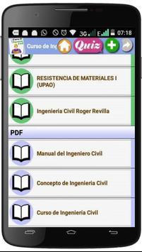 CURSO DE INGENIERÍA CIVIL screenshot 2