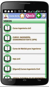 CURSO DE INGENIERÍA CIVIL screenshot 3